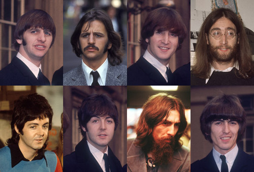 The Beatles Wallpaper With A Business Suit And Dress Called