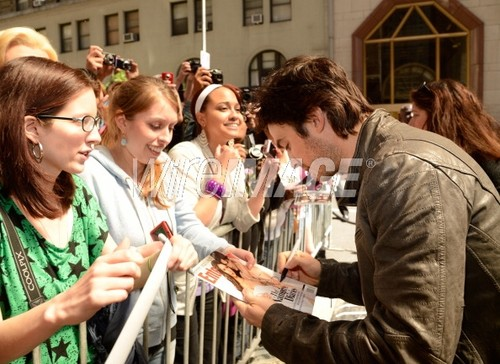 The CW Network's 2012 Upfront - Red Carpet - May, 17