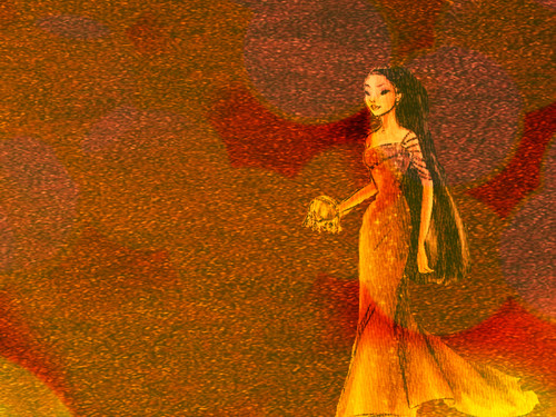 "The Colorful Princesses Collection : ""POCAHONTAS"" ♥ - disney-princess Wallpaper"