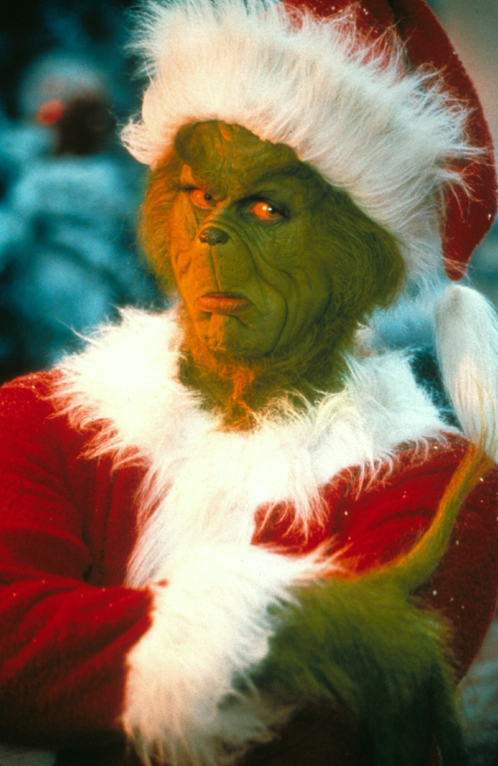 how the grinch stole christmas Every who down in whoville liked christmas a lot / but the grinch who lived just north of whoville did not / the grinch hated christmas the whole christmas season.