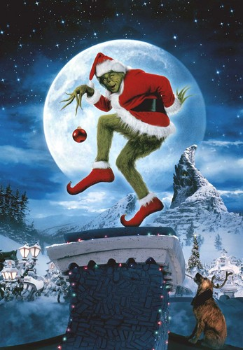 How The Grinch estola navidad fondo de pantalla possibly containing a ski resort and an igloo called The Grinch