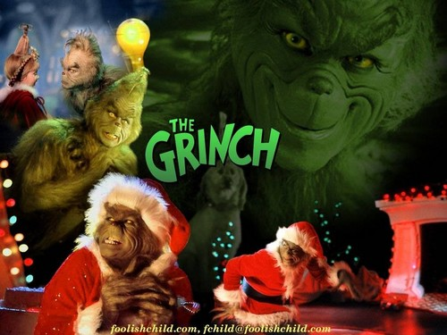 How The Grinch estola navidad fondo de pantalla called The Grinch