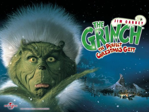 How The Grinch estola navidad fondo de pantalla titled The Grinch