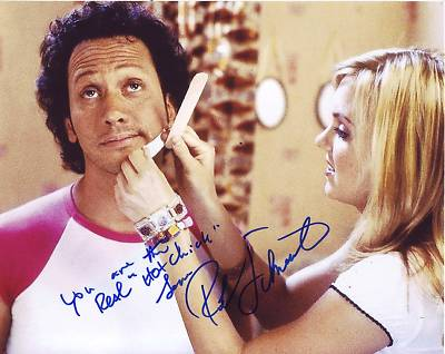 The Hot Chick autograph