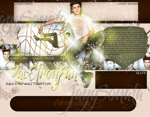 The Lucky One wallpaper with a sign called The Lucky One (zac efron)