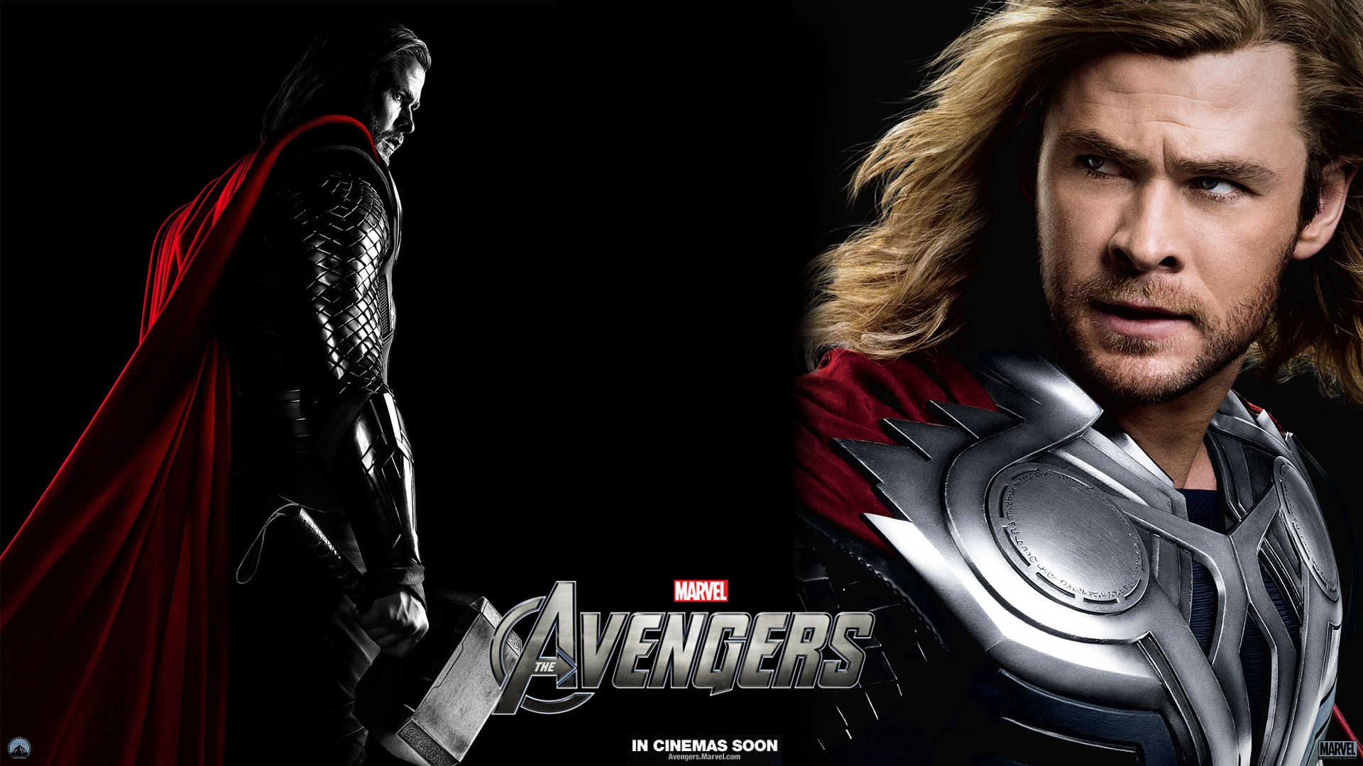 I Vendicatori Wallpaper Entitled Thor