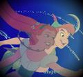 Thumbelina&Peter Pan. <3