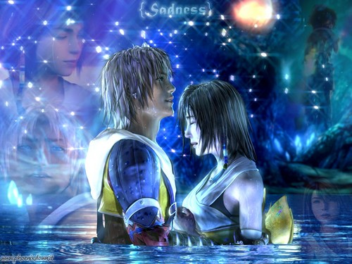Final Fantasy X wallpaper entitled Tidus & Yuna