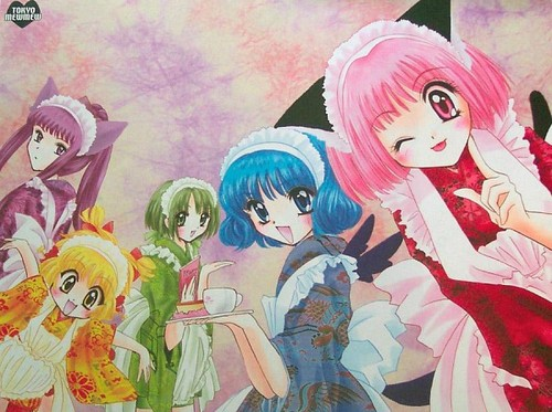 Tokyo Mew Mew Group X3