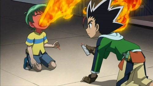 Too spicy! - metal-fight-beyblade Photo