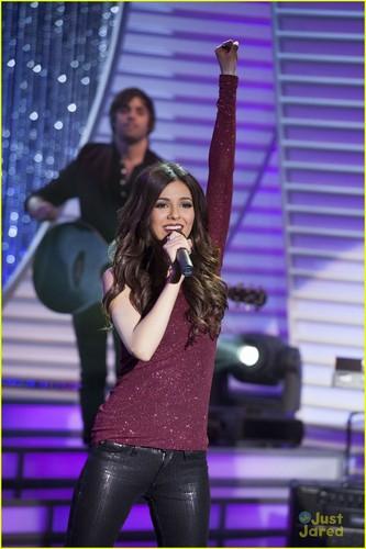 Tori performing