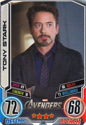 The Avengers wallpaper called Trading cards