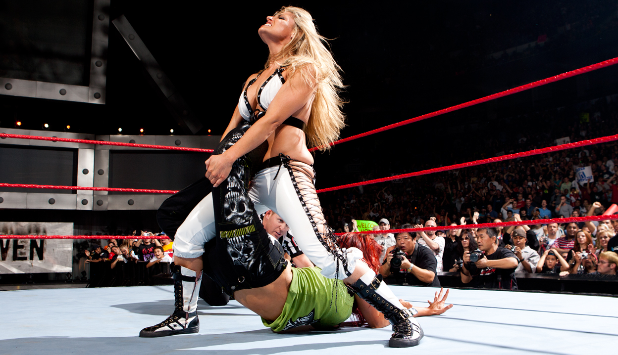 Trish and lita naked in ring remarkable, rather