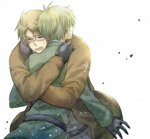UkUs - hetalia-usuk Fan Art
