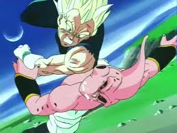 Vegeta SSJ vs Kid Buu