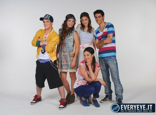 Violetta wallpaper entitled Violetta cast