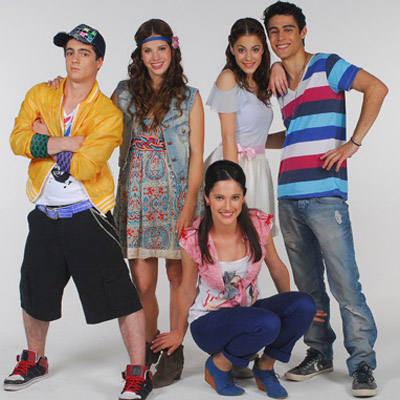 Violetta wallpaper called Violetta cast