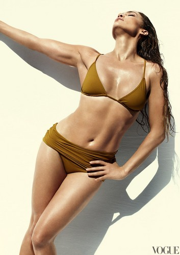 Jennifer Lopez wallpaper with a bikini called Vogue Magazine Photoshoot (June 2012)