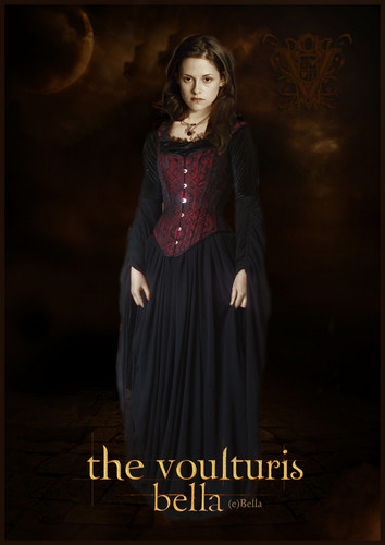 The Volturi wallpaper possibly containing a kirtle, a dinner dress, and a cocktail dress titled Volturi Bella