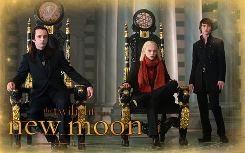 The Volturi wallpaper probably with a street and a drawing room titled Volturi Fanart