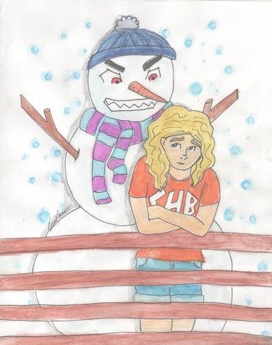 WARNING! evil snowman onboard!