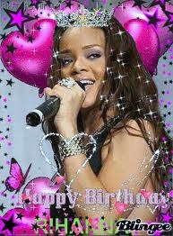 When It Was Rih's Birthday!!!!!!!!!!!!!