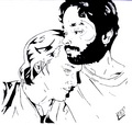 William Hurt as Molina and Raul Julia as Valentin Art - william-hurt fan art