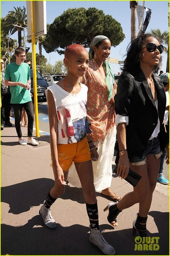 Willow Smith: Cannes with Mom Jada Pinkett!