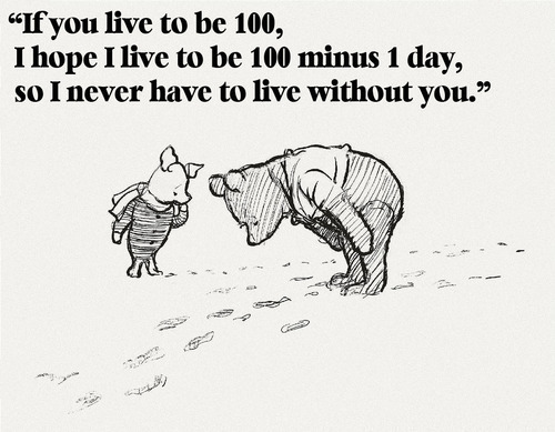 Winnie the Pooh quote ^.^ - random Photo