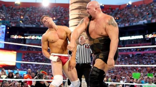 Wrestlemania 28 Results: Big onyesha vs. Cody Rhodes