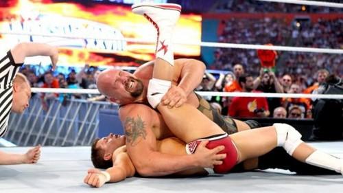 Wrestlemania 28 Results: Big mostrar vs. Cody Rhodes
