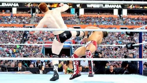 Wrestlemania 28 Results: Daniel Bryan vs. Sheamus
