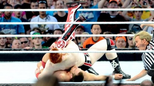 Wrestlemania 28 Results: Daniel Bryan vs. Sheamus