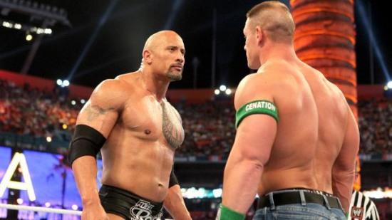 Wwe Imagens Wrestlemania 28 Results The Rock Vs John Cena