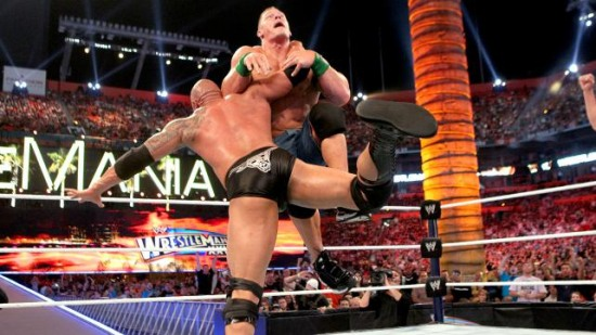 Wwe Immagini Wrestlemania 28 Results The Rock Vs John Cena