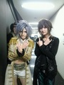 Yo with Teru (Versailles guitarist)