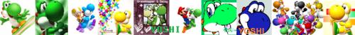 Yoshi Banner I Made