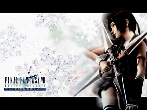 Final Fantasy VII پیپر وال probably containing a کنسرٹ called Yuffie