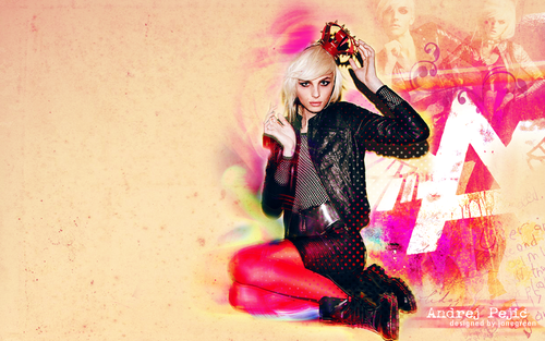 andrej pejic Hintergrund containing a hip boot titled andrej pejic