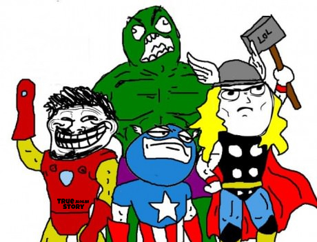 The Avengers wallpaper with anime called avengers / memes