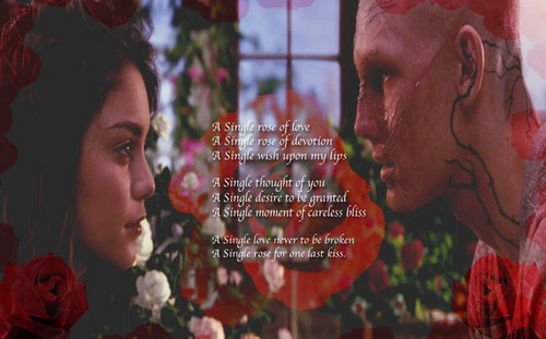 beastly single rose of love