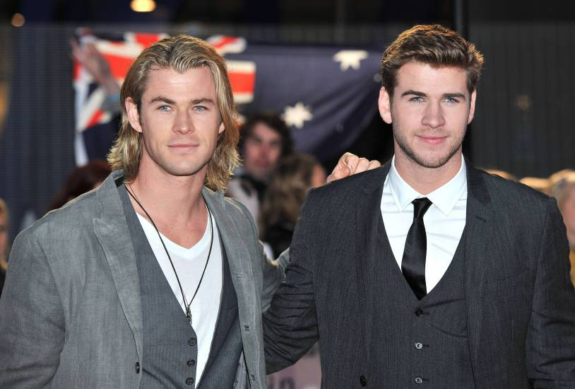 bros - Chris & Liam Hemsworth Photo (30864692) - Fanpop