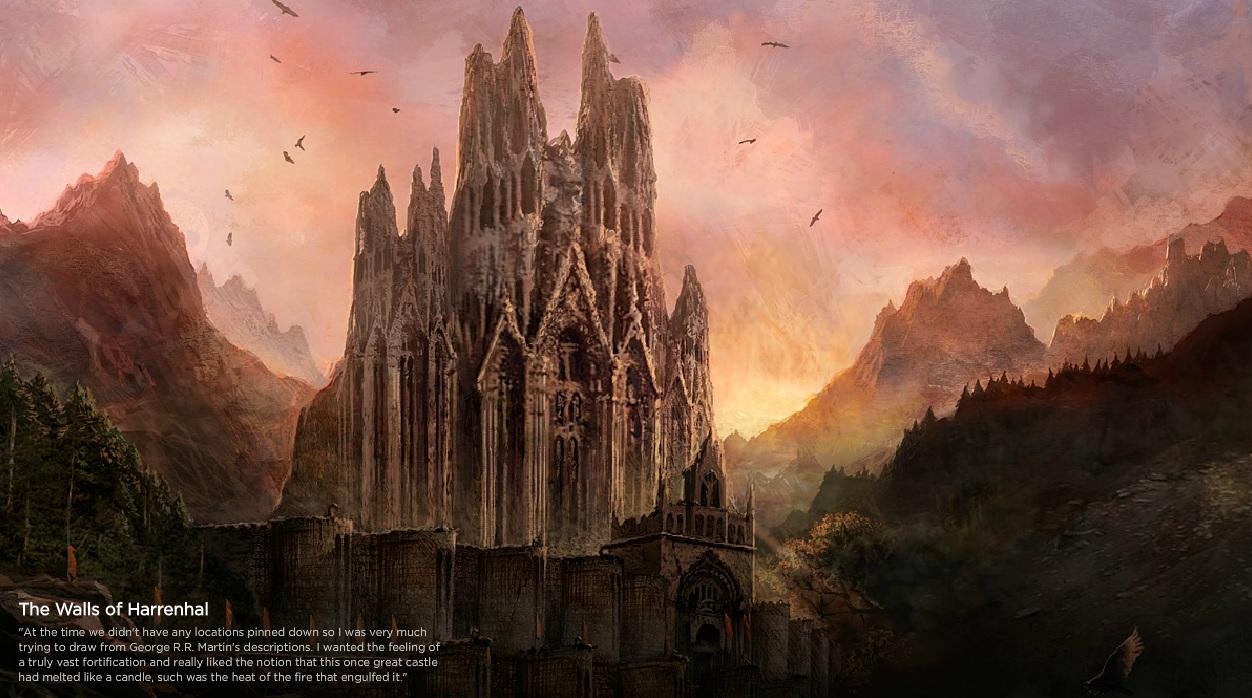 The Walls of Harrenhal concept art