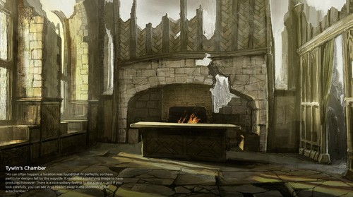 Tywin's Chamber concept art