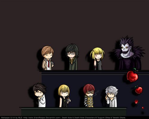 death note wallpaper in The Death Note Club