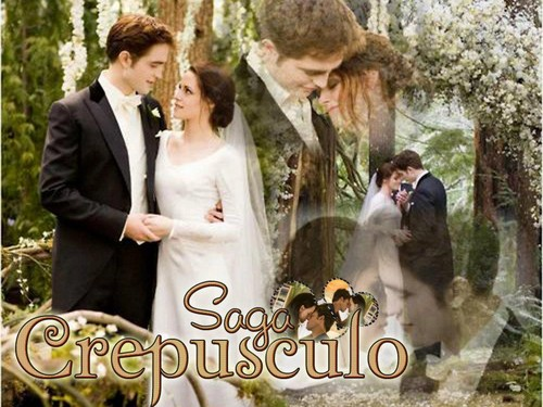 edward&bella - twilight-series Wallpaper