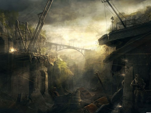Doomsday destruction images end of the world hd wallpaper and doomsday destruction wallpaper possibly containing a railroad tunnel titled end of the world voltagebd Images