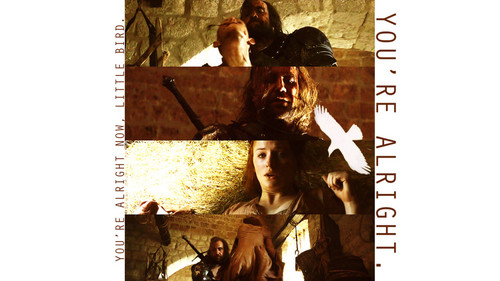 Sandor Clegane & Sansa Stark - game-of-thrones Wallpaper