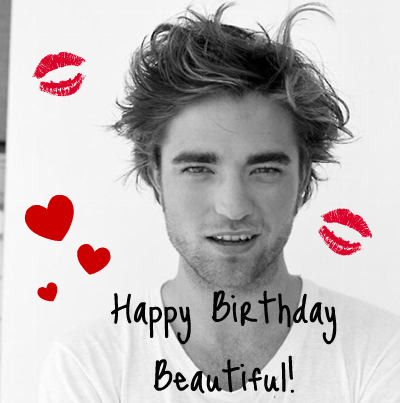 Robert Pattinson kertas dinding possibly with a portrait called happy b-day, rob!!!<3