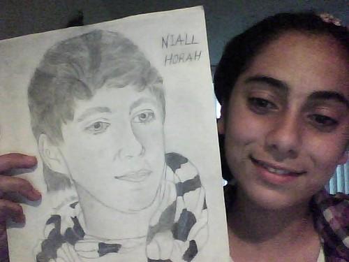 i drew Niall, plz Kommentar if its good oder no. :)